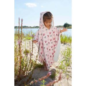 Lassig - 1433003774 - Poncho de plage fille octopus rose 12-36 mois (465896)