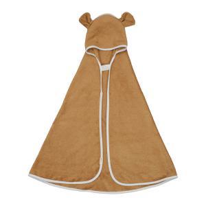 Fabelab - 2006238084 - Hooded Baby Towel - Bear - Ochre (466878)