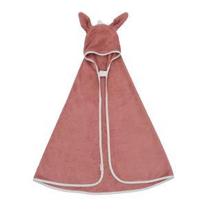 Fabelab - 2006238083 - Cape de bain bébé petit lapin rose (466882)