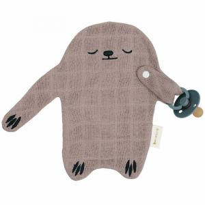 Fabelab - 2006238134 - Pacifier Cuddle - Sloth - Warm Grey (466942)
