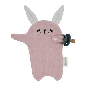 Fabelab - 2006238067 - Pacifier Cuddle - Bunny - Mauve (466950)