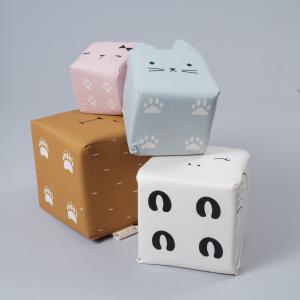 Fabelab - 1904499999 - Cubes d activité en tissu animaux (467146)