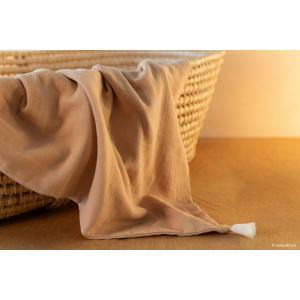 Nobodinoz - D19TREASURE/030 - Couverture  légère bébéTreasure Nude (469716)