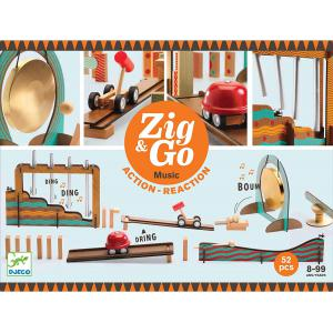 Djeco - DJ05645 - Zig & Go - Music - 52 pcs (469868)