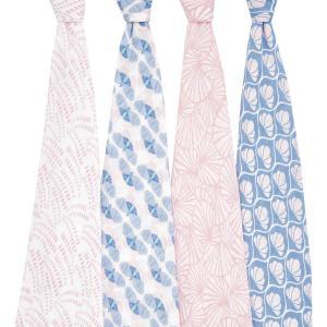 Aden and Anais - ASWC40011 - Pack de 4 maxi-langes en mousseline de coton deco (470718)