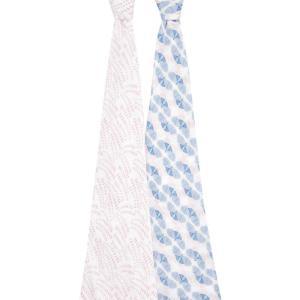 Aden and Anais - ASWC20013 - Pack de 2 maxi-langes en mousseline de coton muslin deco (470724)