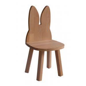 Boogy Woody - RACHWO - Chaise lapin bois hêtre naturel (471098)