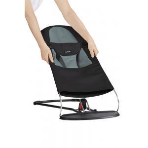 Babybjorn - 010022 - Housse pour Transat Balance Soft, Noir - Gris Foncé, Coton (471130)