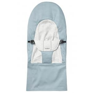 Babybjorn - 010045 - Housse pour Transat Balance Soft, Bleu - Gris, Coton Jersey (471136)
