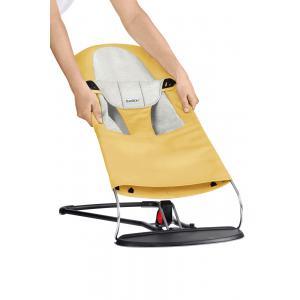 Babybjorn - 010061 - Housse pour Transat Balance Soft, Jaune - Gris, Coton Jersey (471138)
