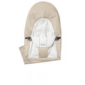 Babybjorn - 010083 - Housse pour Transat Balance Soft, Beige - Gris, Coton Jersey (471140)