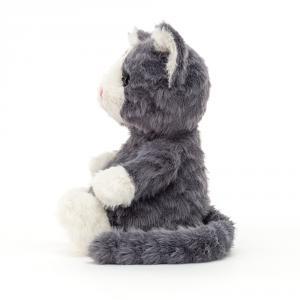 Jellycat - MIT6ST - Peluche Mitten chaton gris (471434)