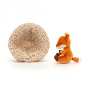 Jellycat - HIB3F - Hibernating Fox (471522)