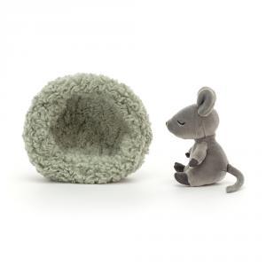 Jellycat - HIB3M - Hibernating Mouse (471524)