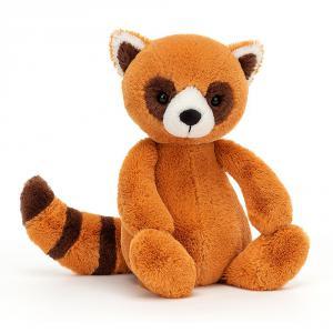 Jellycat - BAS3RP - Peluche panda roux Bashful - Medium (471574)