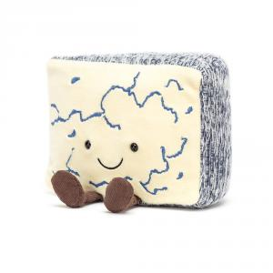 Jellycat - A2BLU - Amuseable Blue Cheese (471608)