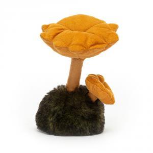 Jellycat - WN2C - Peluche champignon chanterelle Wild Nature (471666)