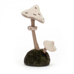 Jellycat - WN2P - Peluche champignon parasol Wild Nature (471668)