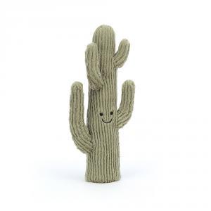 Jellycat - A4DC - Peluche Amuseable cactus du désert - Petit (471688)