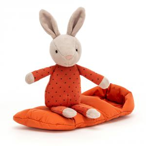 Jellycat - SBS6B - Peluche lapin avec sac de couchage (471708)