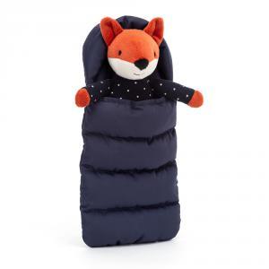 Jellycat - SBS6F - Peluche renard avec sac de couchage (471712)