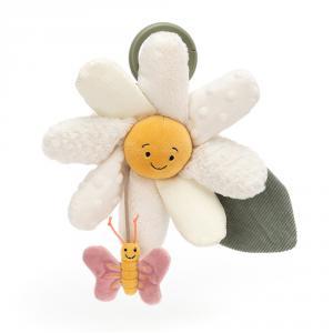 Jellycat - FLEU2DAT - Jouet d activité fleur pâquerette (471812)