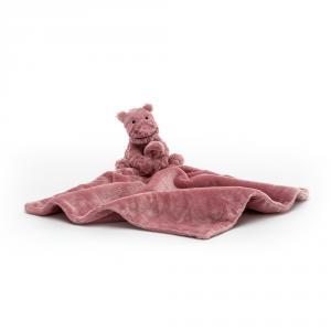 Jellycat - FWS2H - Doudou hippopotame Fuddlewuddle (471860)