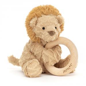 Jellycat - FWR2LN - Anneau de dentition lion Fuddlewuddle (471862)