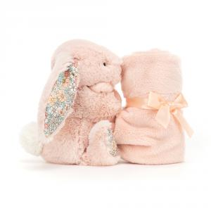Jellycat - BBL4BLU - Blossom Blush Bunny Soother (471870)
