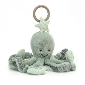 Jellycat - ODY2AT - Odyssey Octopus Activity Toy (471890)