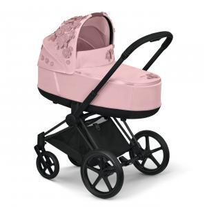 Cybex - 521001343 - Nacelle Priam SIMPLY FLOWERS rose (472336)