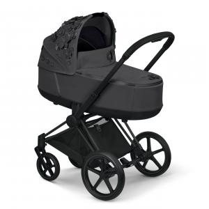 Cybex - 521001351 - Nacelle Priam SIMPLY FLOWERS gris (472338)