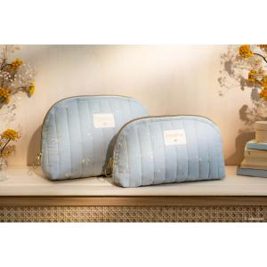 Nobodinoz - HOLIDAYBIG033 - Trousse de toilette Holiday (grande) Willow soft Blue (472480)