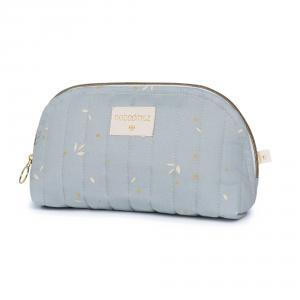 Nobodinoz - HOLIDAYSMALL033 - Trousse de toilette Holiday (petite) Willow soft Blue (472484)