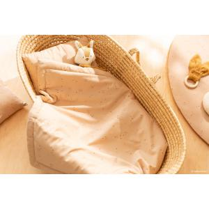 Nobodinoz - LAPONIAMINI034 - Couverture bébé Laponia Willow Dune (472490)