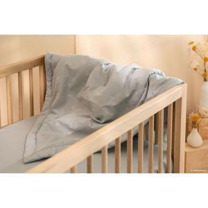 Nobodinoz - LAPONIASMALL033 - Couverture enfant Laponia Willow soft Blue (472492)