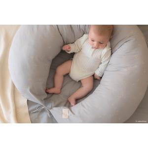 Nobodinoz - LUNA033 - Coussin de maternité Luna Willow soft Blue (472500)