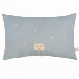 Nobodinoz - LAUREL033 - Petit coussin Laurel Willow soft Blue (472650)