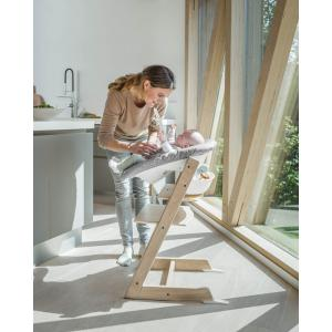 Stokke - BU416 - Chaise Tripp Trapp® Blanche et Newborn Set (472696)