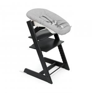 Stokke - BU417 - Chaise Tripp Trapp® Noir et Newborn Set (472698)