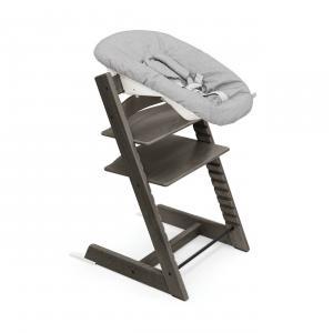 Stokke - BU418 - Chaise Tripp Trapp® Gris Brume et Newborn Set (472700)
