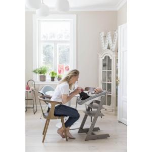 Stokke - BU419 - Chaise Tripp Trapp® Gris Tempête et Newborn Set (472702)
