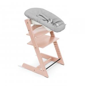 Stokke - BU422 - Chaise Tripp Trapp® Rose poudre et Newborn Set (472708)