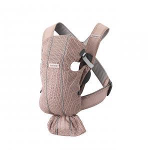 Babybjorn - 021003 - Porte-bébé Mini Mesh Rose poudré (472752)