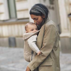 Babybjorn - 099002 - Porte-bébé Move Mesh Gris-beige (472756)