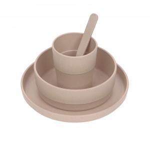 Lassig - 1310040772 - Coffret repas Uni rose poudré (472950)