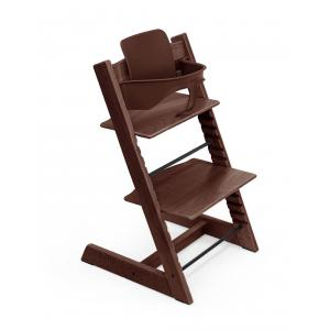 Stokke - BU430 - Chaise haute Tripp Trapp noyer et Babyset (473232)
