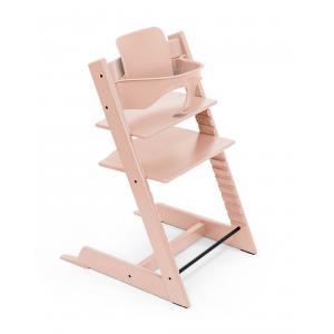 Stokke - BU432 - Chaise haute Tripp Trapp rose et Babyset (473236)
