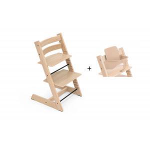 Stokke - BU434 - Chaise haute Tripp Trapp Chêne naturel et Babyset (473240)