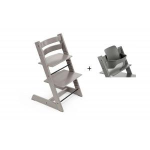 Stokke - BU436 - Chaise haute Tripp Trapp Chêne gris et Babyset (473244)